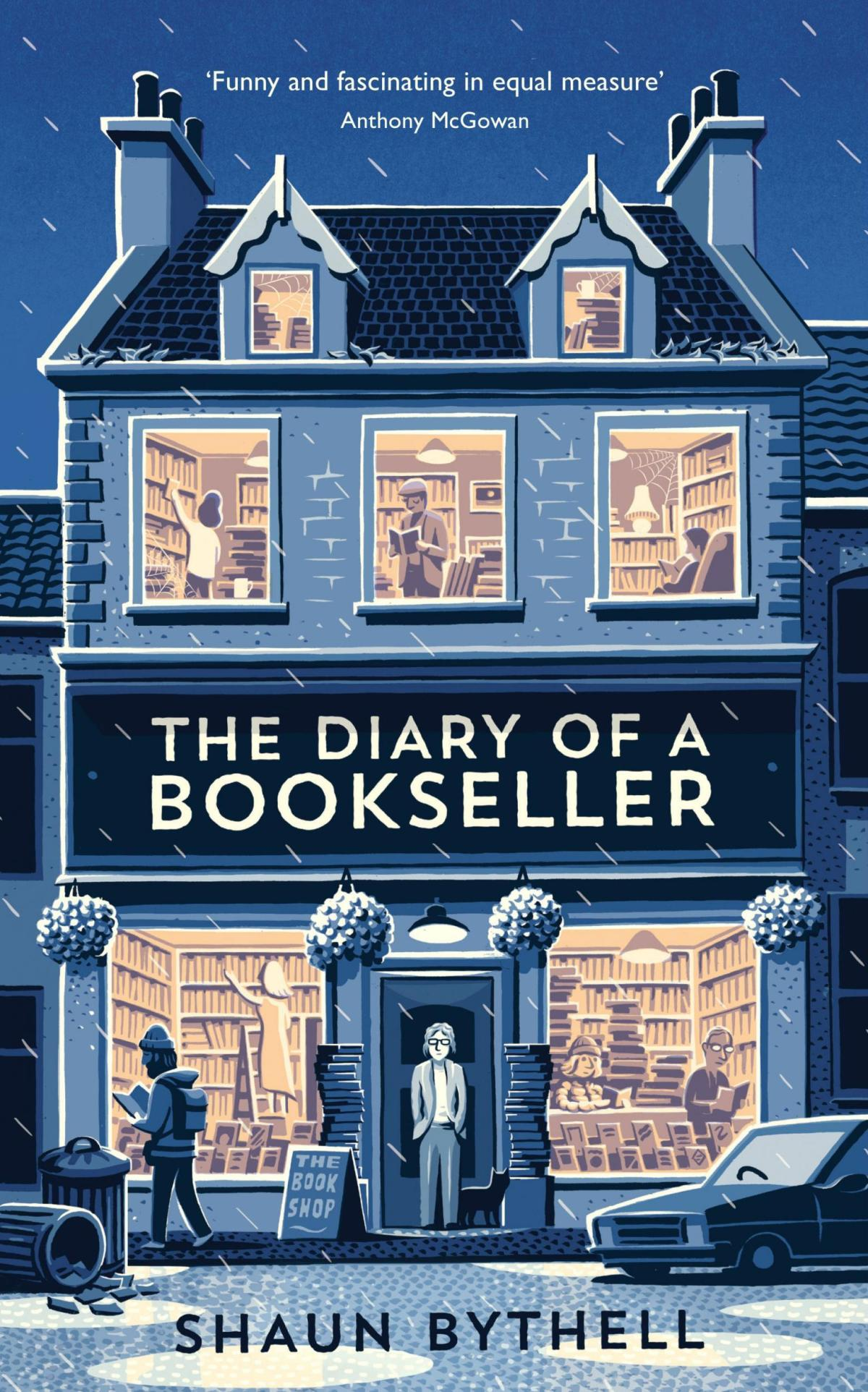 Book Review: The Diary of a Bookseller by Shaun Bythell
